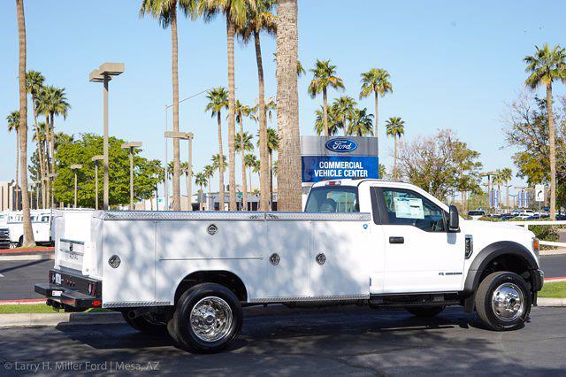 2021 Ford F-550 Regular Cab DRW 4x4, Royal Truck Body Service Body #21P166 - photo 12