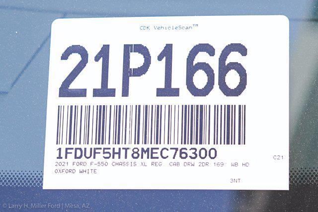 2021 Ford F-550 Regular Cab DRW 4x4, Royal Truck Body Service Body #21P166 - photo 30
