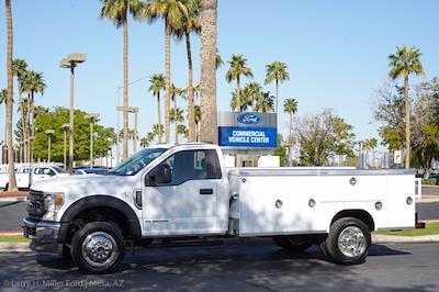 2021 Ford F-550 Regular Cab DRW 4x4, Royal Truck Body Service Body #21P166 - photo 3