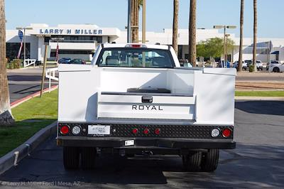 2021 Ford F-550 Regular Cab DRW 4x4, Royal Truck Body Service Body #21P166 - photo 10