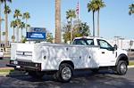 2021 Ford F-550 Regular Cab DRW 4x4, Royal Truck Body Service Body #21P166 - photo 11
