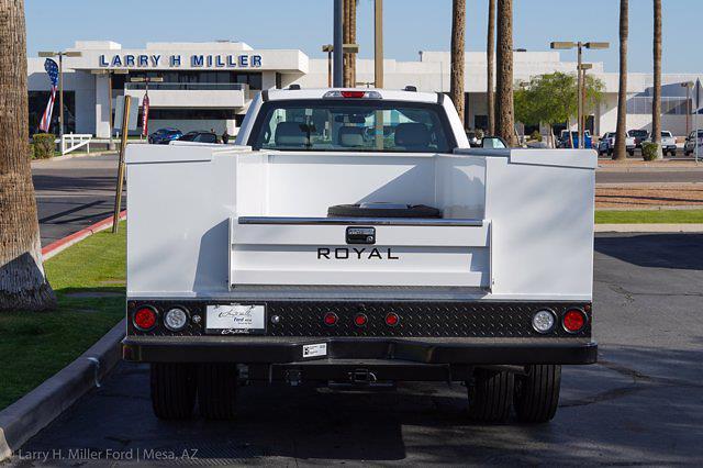 2021 Ford F-550 Regular Cab DRW 4x2, Royal Truck Body Service Body #21P167 - photo 10