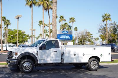 2021 Ford F-550 Regular Cab DRW 4x2, Royal Truck Body Service Body #21P167 - photo 3