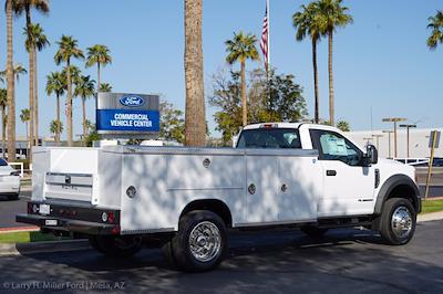 2021 Ford F-550 Regular Cab DRW 4x2, Royal Truck Body Service Body #21P167 - photo 11