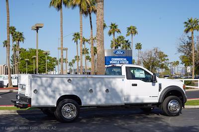 2021 Ford F-550 Regular Cab DRW 4x2, Royal Truck Body Service Body #21P167 - photo 12