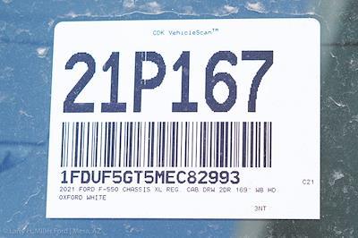 2021 Ford F-550 Regular Cab DRW 4x2, Royal Truck Body Service Body #21P167 - photo 29