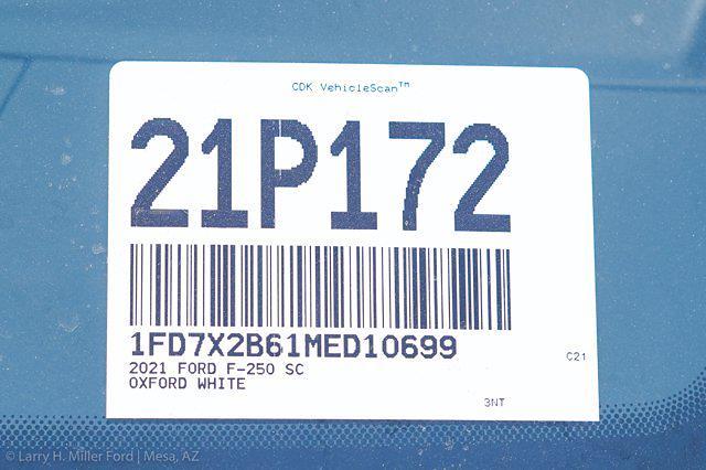 2021 Ford F-250 Super Cab 4x4, Royal Truck Body Service Body #21P172 - photo 32