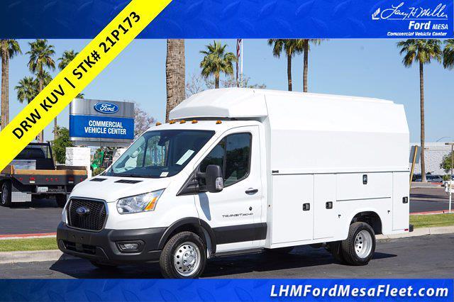 2021 Ford Transit 350 HD 4x2, Knapheide KUV Service Utility Van #21P173 - photo 1