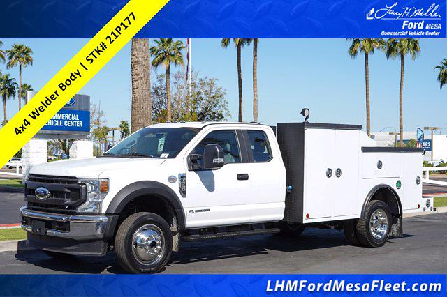 2021 Ford F-550 Super Cab DRW 4x4, Reading Welder Body #21P177 - photo 1