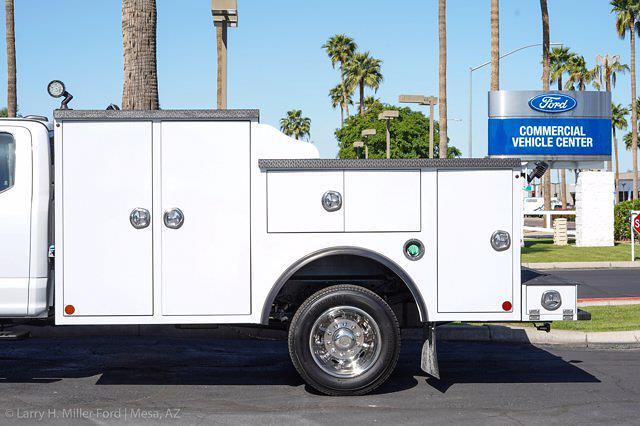 2021 Ford F-550 Super Cab DRW 4x4, Reading Master Mechanics HD Welder Body #21P177 - photo 6
