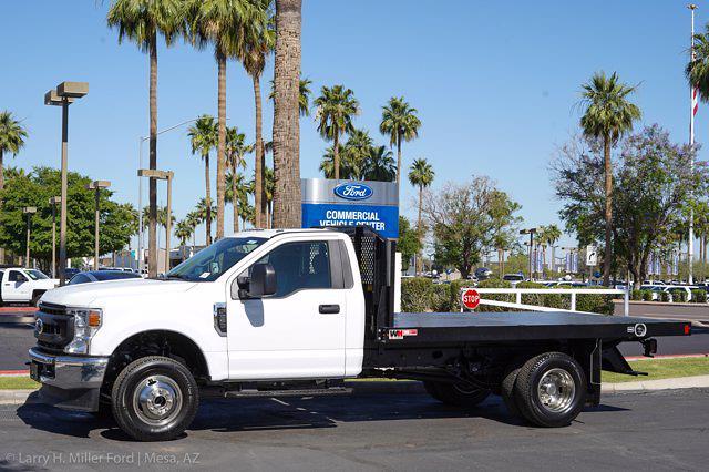 2021 Ford F-350 Regular Cab DRW 4x4, Monroe Work-A-Hauler II Platform Body #21P179 - photo 3