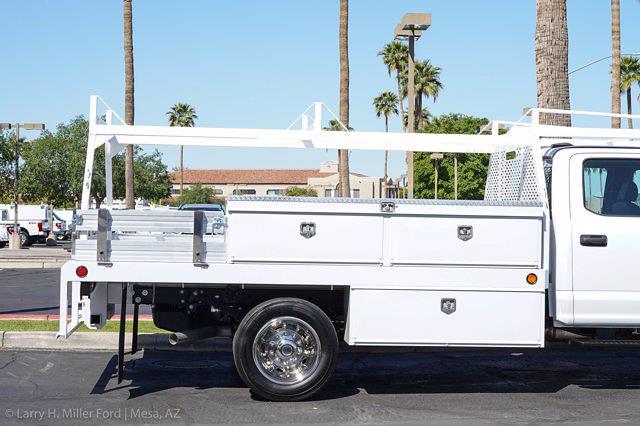 2021 Ford F-550 Crew Cab DRW 4x2, Scelzi CTFB Contractor Body #21P180 - photo 13