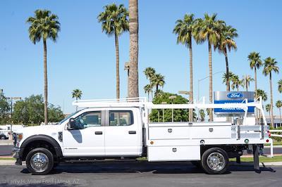 2021 Ford F-550 Crew Cab DRW 4x2, Scelzi CTFB Contractor Body #21P180 - photo 3