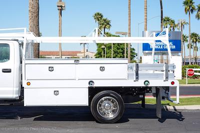 2021 Ford F-550 Crew Cab DRW 4x2, Scelzi CTFB Contractor Body #21P180 - photo 6