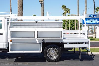 2021 Ford F-550 Crew Cab DRW 4x2, Scelzi CTFB Contractor Body #21P180 - photo 7