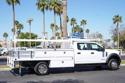 2021 Ford F-550 Crew Cab DRW 4x2, Scelzi CTFB Contractor Body #21P180 - photo 11