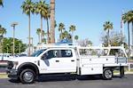2021 Ford F-550 Crew Cab DRW 4x2, Scelzi CTFB Contractor Body #21P180 - photo 4