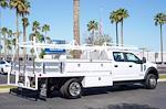 2021 Ford F-550 Crew Cab DRW 4x2, Scelzi CTFB Contractor Body #21P180 - photo 10