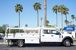 2021 Ford F-550 Crew Cab DRW 4x2, Scelzi CTFB Contractor Body #21P180 - photo 12