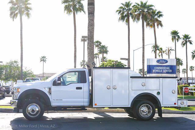 2021 Ford F-450 Regular Cab DRW 4x4, Reading Master Mechanics HD Welder Body #21P181 - photo 4