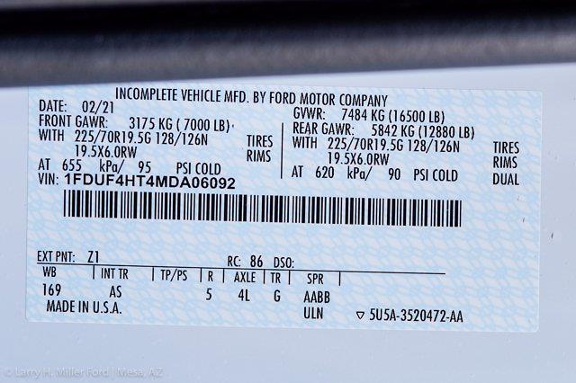2021 Ford F-450 Regular Cab DRW 4x4, Reading Master Mechanics HD Welder Body #21P181 - photo 28