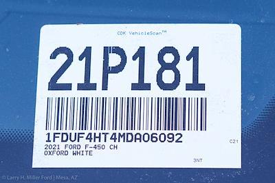 2021 Ford F-450 Regular Cab DRW 4x4, Reading Master Mechanics HD Welder Body #21P181 - photo 29