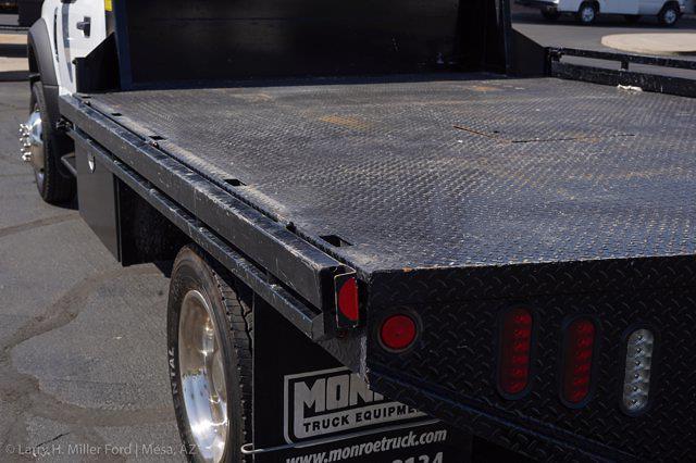 2019 Ford F-450 Regular Cab DRW 4x2, Hillsboro GII Steel Platform Body #21P188A - photo 9