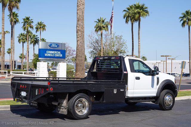 2019 Ford F-450 Regular Cab DRW 4x2, Hillsboro GII Steel Platform Body #21P188A - photo 2
