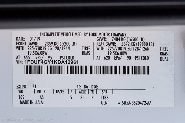 2019 Ford F-450 Regular Cab DRW 4x2, Hillsboro GII Steel Platform Body #21P188A - photo 26