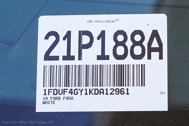 2019 Ford F-450 Regular Cab DRW 4x2, Hillsboro GII Steel Platform Body #21P188A - photo 27