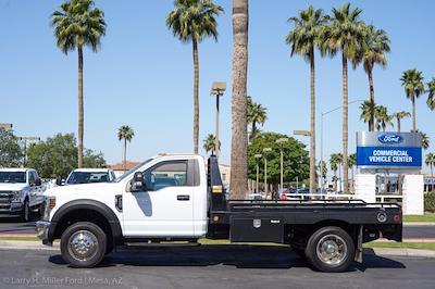 2019 Ford F-450 Regular Cab DRW 4x2, Hillsboro GII Steel Platform Body #21P188A - photo 5