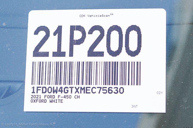 2021 Ford F-450 Crew Cab DRW 4x2, Knapheide Value-Master X Platform Body #21P200 - photo 27