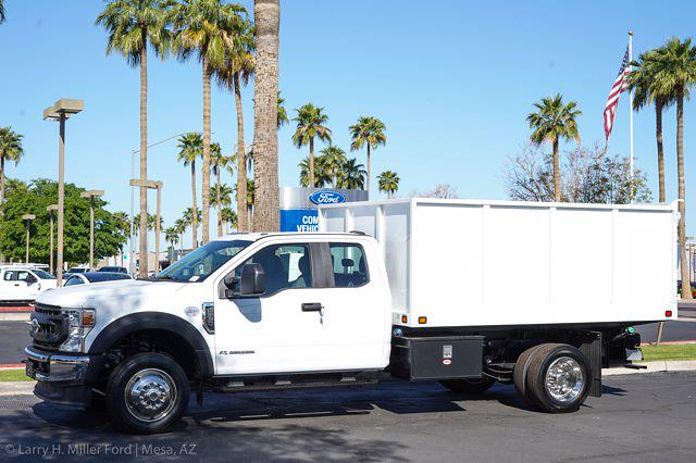 2021 Ford F-550 Super Cab DRW 4x2, Knapheide Value-Master X Landscape Dump #21P201 - photo 7