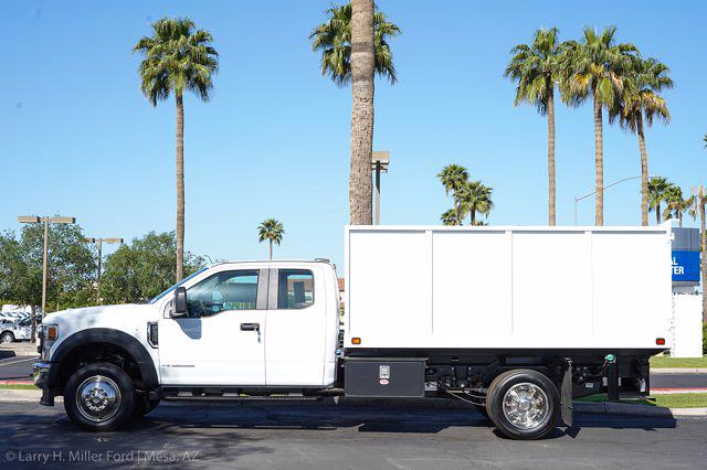 2021 Ford F-550 Super Cab DRW 4x2, Knapheide Value-Master X Landscape Dump #21P201 - photo 5