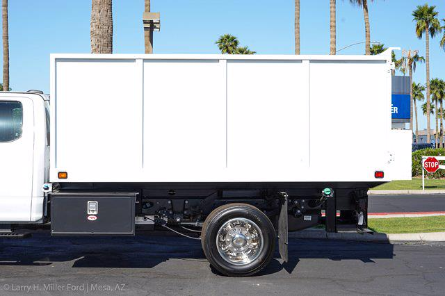 2021 Ford F-550 Super Cab DRW 4x2, Knapheide Value-Master X Landscape Dump #21P201 - photo 6