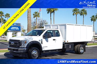 2021 Ford F-550 Super Cab DRW 4x2, Knapheide Value-Master X Landscape Dump #21P201 - photo 1
