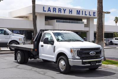 2021 Ford F-350 Regular Cab DRW 4x2, Knapheide Value-Master X Platform Body #21P202 - photo 11
