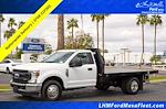 2021 Ford F-350 Regular Cab DRW 4x2, Knapheide Value-Master X Platform Body #21P202 - photo 1