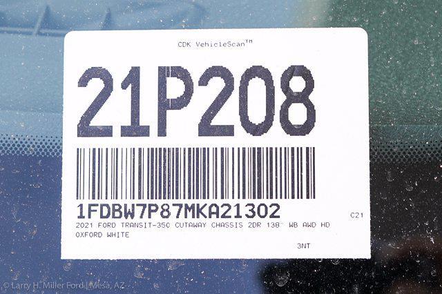 2021 Ford Transit 350 AWD, Knapheide KUV Service Utility Van #21P208 - photo 30