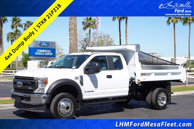 2021 Ford F-450 Super Cab DRW 4x4, Rugby Eliminator LP Steel Dump Body #21P218 - photo 1