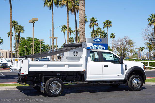 2021 Ford F-450 Super Cab DRW 4x4, Rugby Eliminator LP Steel Dump Body #21P218 - photo 10
