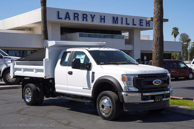 2021 Ford F-450 Super Cab DRW 4x4, Rugby Eliminator LP Steel Dump Body #21P218 - photo 12