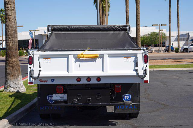 2021 Ford F-450 Super Cab DRW 4x4, Rugby Eliminator LP Steel Dump Body #21P218 - photo 8