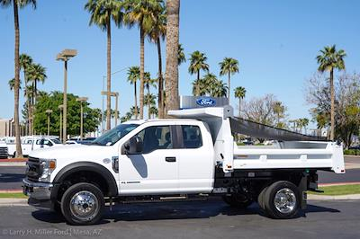 2021 Ford F-450 Super Cab DRW 4x4, Rugby Eliminator LP Steel Dump Body #21P218 - photo 3