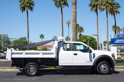2021 Ford F-450 Super Cab DRW 4x4, Rugby Eliminator LP Steel Dump Body #21P218 - photo 11