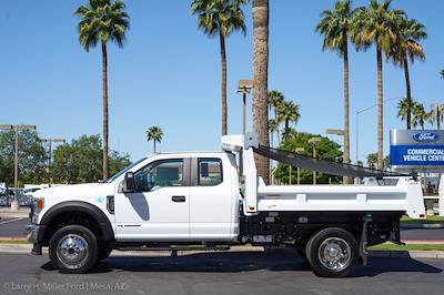 2021 Ford F-450 Super Cab DRW 4x4, Rugby Eliminator LP Steel Dump Body #21P218 - photo 5