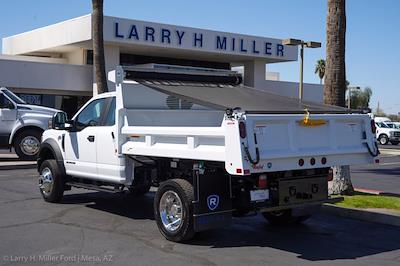 2021 Ford F-450 Super Cab DRW 4x4, Rugby Eliminator LP Steel Dump Body #21P218 - photo 2