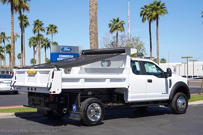 2021 Ford F-450 Super Cab DRW 4x4, Rugby Eliminator LP Steel Dump Body #21P218 - photo 9