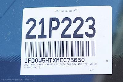 2021 Ford F-550 Crew Cab DRW 4x4, Knapheide PGNC Gooseneck Platform Body #21P223 - photo 31