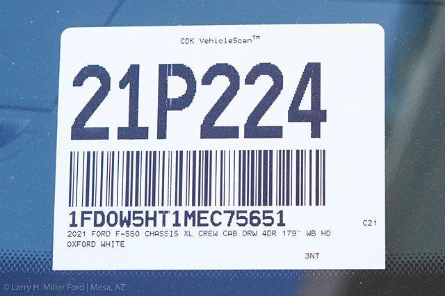 2021 Ford F-550 Crew Cab DRW 4x4, Knapheide PGND Gooseneck Hauler Body #21P224 - photo 31